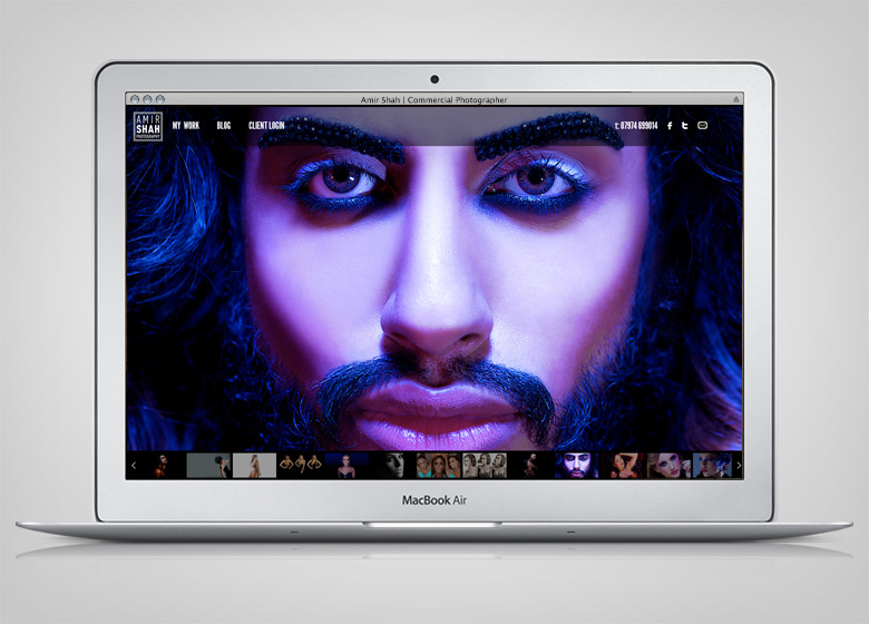 Amir Shah Website - 1