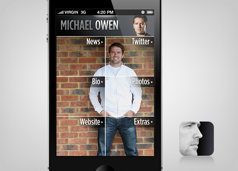 Michael Owen App - 1