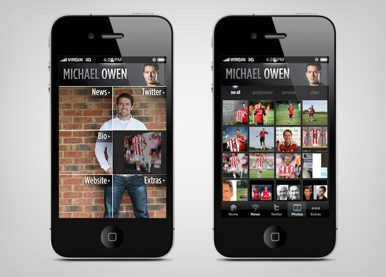 Michael Owen App - 2
