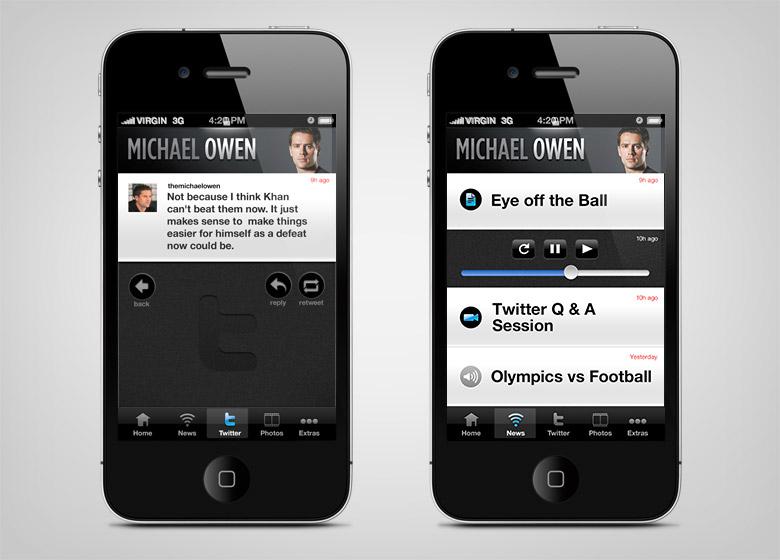 Michael Owen App - 3