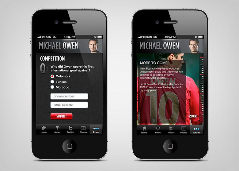 Michael Owen App - 4